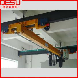 国标轻型欧式电动单梁悬挂起重机,欧式单梁悬挂行车,质量过硬