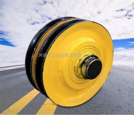 16t起重机天车滑轮组 直径565铸钢滑轮片 双梁吊钩滑轮组 可定制