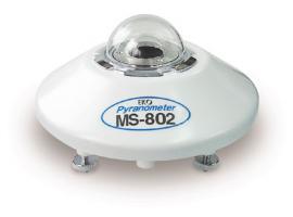 进口辐射表 MS802/802F副基准级总辐射表 中科技达技有限公司