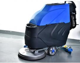 嘉航手推式洗地机 环氧地坪清洁专用洗地机