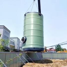 定制生产玻璃钢一体化泵站污水提升泵站