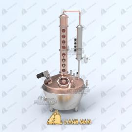 酿酒设备 多功能紫铜蒸馏设备 高度酒提取设备