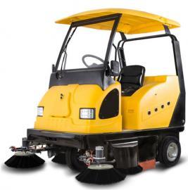 厂区道路用明诺驾驶式扫地车 明诺电动环卫清扫车