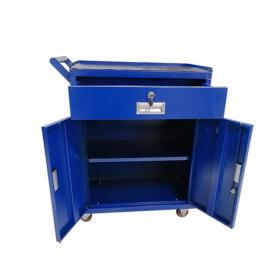 加厚三层工具车 箱装体积小可出口工具收纳车