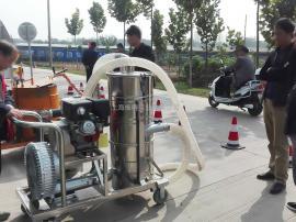 高架抢修养护用汽油机吸尘器无需电源汽油驱动吸尘器