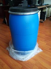 200公斤�_口塑料桶200公斤抱箍塑料桶化工桶
