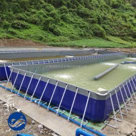 池塘内循环水养殖项目,工厂化循环流水养殖槽、悬浮式养殖水槽
