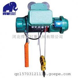 环保发电用防爆电动葫芦3T12M防爆电机