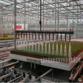 温室大棚移动喷灌机自动浇水雾化微喷园艺灌溉机微喷设备
