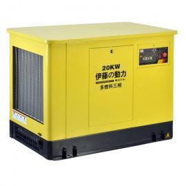 静音箱式汽油发电机YT20REP