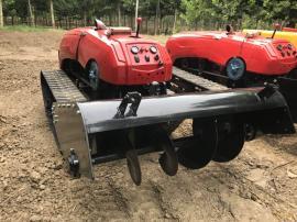 全自动遥控微耕机低矮果园农园用耕整机械履带式行走行走平稳