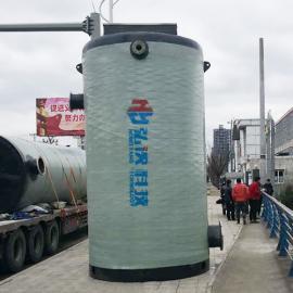 一体式污水提升泵站成套设备无人值守