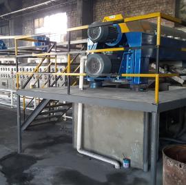 冰晶石隧道式微波干燥烘干设备