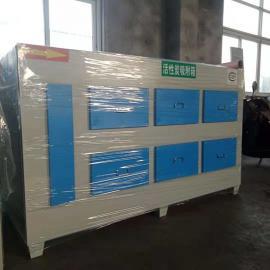 京信环保 JX-10000活性炭吸附箱加工工业废气吸附箱