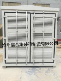供应集装箱门,设备箱百叶门,百叶通风设备集装箱门 尺寸可定制