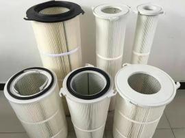 空气除尘无纺布滤芯 喷塑PTEE覆膜滤芯
