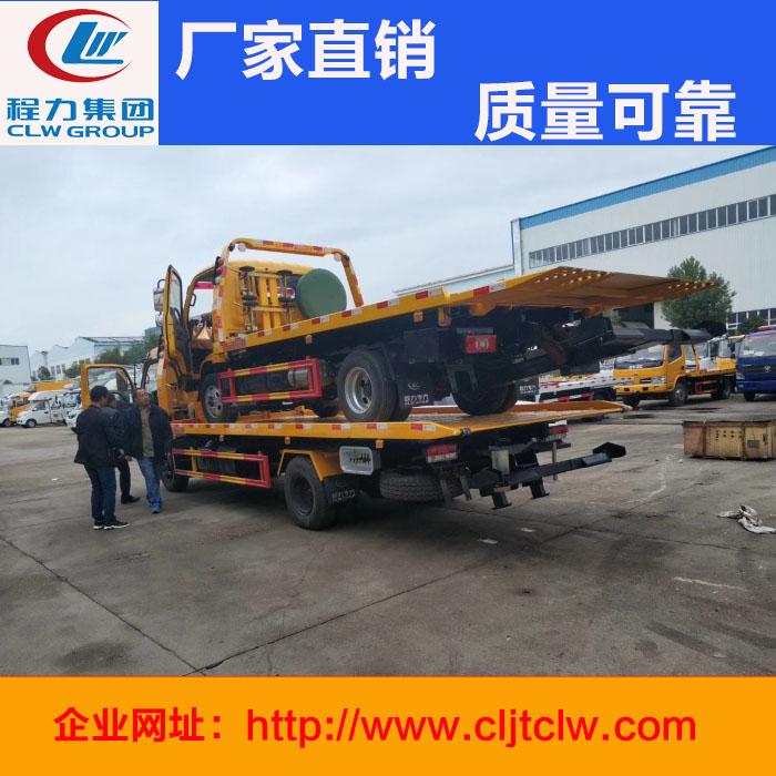 一拖二清障车板长5.6米东风大多利卡车型