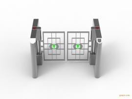 智能摆闸人行通道闸门禁系统套装 动态人脸识别一体机道闸机