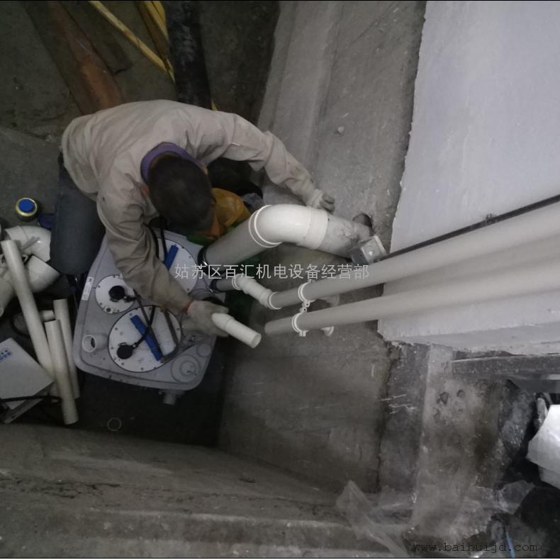 原�b�M口 整�w式污水提升泵 �e墅�l生�g提升�b置 污水提升器