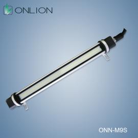 M9S机床工作灯,防护等级IP67采用活动灯夹安装!