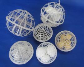 多孔悬浮填料 生物挂膜填料 悬浮球填料