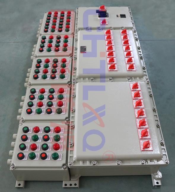 非标100A防爆动力配电箱BXM(D) 防爆照明配电箱