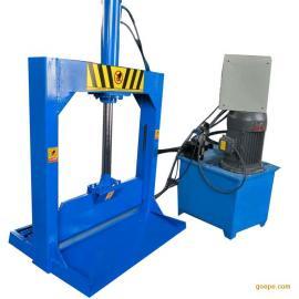 立式液压单刀切胶机双缸龙门 液压铡刀机裁切塑料薄膜机械
