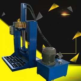橡皮筋切断机自动橡胶分条机单刀立式液压切胶机多功能切条机