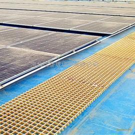 光伏太阳能发电站30*38*38玻璃钢格珊检修通道
