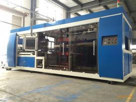 XG-6076 PLC控制负压多工位全自动吸塑机