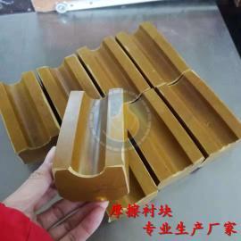 规格型号齐全 矿井猴车驱动轮衬垫衬块 生产橡胶尾轮衬垫衬块