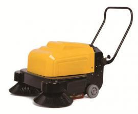 工厂地面清洁用扫地机 带洒水手推式扫地机