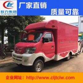 重汽售货车 厢长3.4米售货车