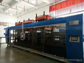香广三工位正负压热成型机