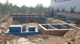 200吨一体化污水处理设备一体机
