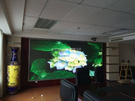 会议室高清LED显示屏大牌子联硕电子显示屏安装报价方案