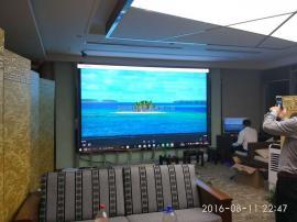 P2.5全彩电子屏分辨率有多高 P2.5LED高清屏3米观看效果