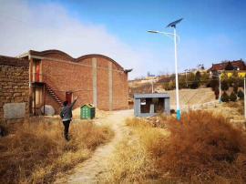 农村太阳能路灯维修
