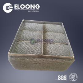 金属不锈钢标准丝网除沫器 高效除雾器填料