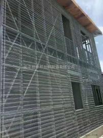 热镀锌轻钢模网,建筑网模,灌浆网模,轻钢别墅用网模