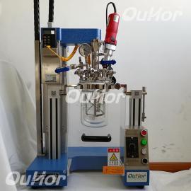 1 �W河 AIR-1L���室密�]超�波反��釜 恒���拌器乳化反��釜