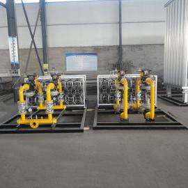 LNG储罐卸车增压撬 空温式lng撬装 LNG换热器气化器