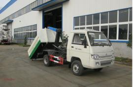 福田小型钩臂式垃圾车