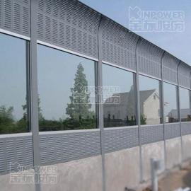 高架桥钢化玻璃隔声屏障