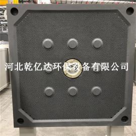 定制污水处理滤板 厢式压滤机滤板 隔膜耐高压滤板