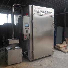 豆腐干上色机器,中小型豆干烟熏炉