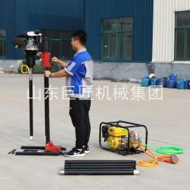 现货特惠BXZ-2L立式背包便携式岩石取芯钻机30米勘探取样钻机