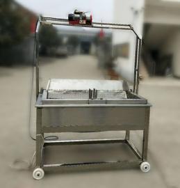 油炸锅烧电带自动控温自动清渣自动出料功能