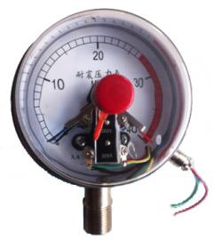 耐震电接点真空压力表
