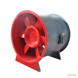 HTF消防认证排烟风机 混流式排烟风机